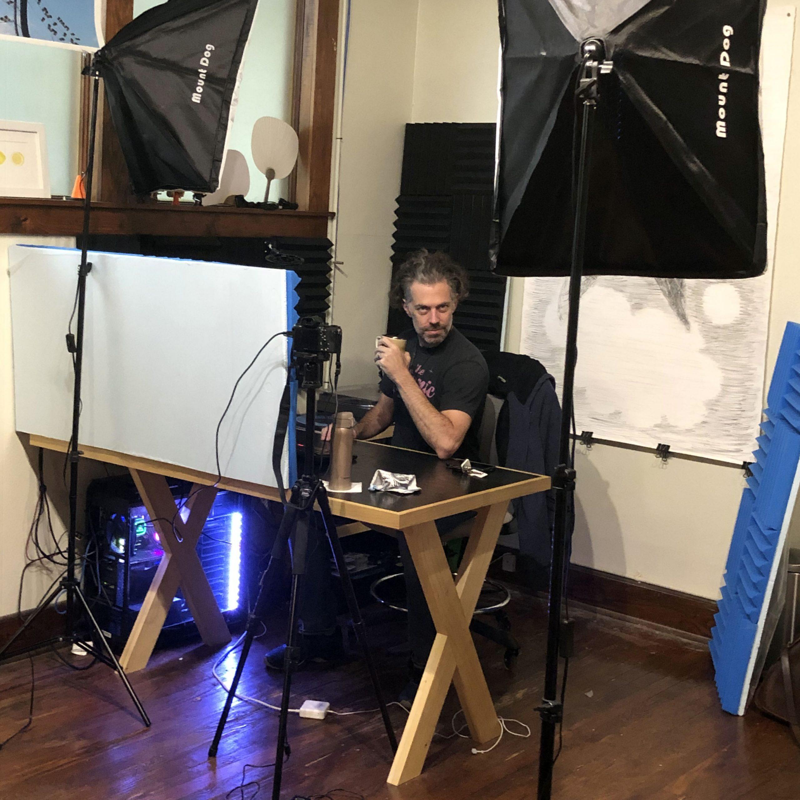 ryder in studio